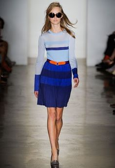 Blue and cute and Orange in the belt... Perfect!