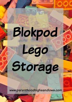 Blokpod Lego Storage | www.parenthoodhighsandlows.com