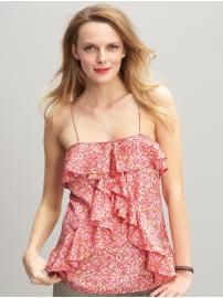 Love florals and ruffles