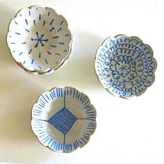 Hand painted pottery