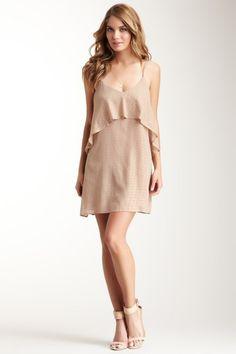 Polka Dot Cascade Ruffle Dress by Rieley on @HauteLook