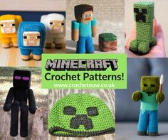 Minecraft is so popular at the moment, we're sure you'll know someone who would love a Minecraft themed gift. We've scoured the internet to find you some great Minecraft crochet patterns. We'd love to see any you make, share them with us on our Facebook page! We love this free minecraft creeper pattern by Nerdigurumi– …