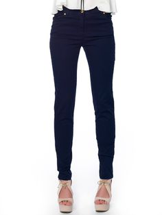 #long_pants for #navy_style Navy Style, Slim Fit Pants, Long Pants, Workout Pants, Black Jeans, Skinny Jeans, Fitness, Fashion, Stocking Tights