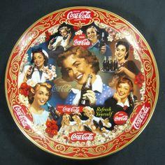 "6th Coca-Cola Franklin Mint Porcelain China Plate ""Fabulous 50's"" 1998"
