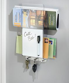 Take a look at this Linus Mail, Key & Dry-Erase Board Center today!