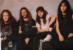 Jason Newsted, James Hetfield, Lars Ulrich & Kirk Hammett