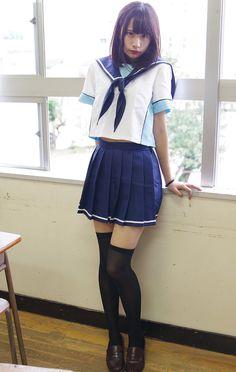 Pin by oldDog on School girl in 2019 School Girl Japan, School Girl Outfit, School Uniform Girls, Girls Uniforms, Japan Girl, Girl Outfits, Girls School, Cute Asian Girls, Beautiful Asian Girls