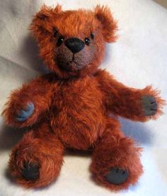 Red Bear!     Available ~ $50 + postage