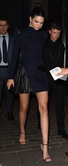 Kendall Jenner in Mugler attends the Vogue Paris Foundation Gala. #bestdressed