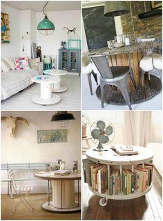 Ni kreative idéer med kabeltromler – i boligen eller på terrassen/altanen…