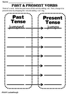 past to present tense verbs