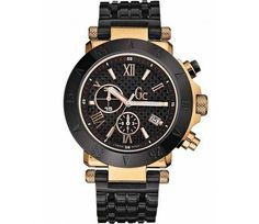 Guess Horloge (black & gold) - www.horlogeskoopjes.nl