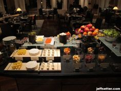 Cheeses and Fruits