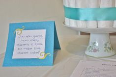 Hostess with the Mostess® - Can you guess how many diapers it took to make this diaper cake?