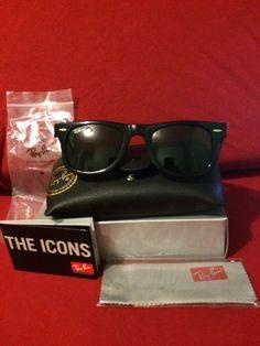 New Ray-Ban Original Wayfarer Sunglasses 901 Black Classic Ray Ban ✅ 9187b4fbcf