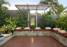 Balcony garden idea patio and garden design ideas apartment patio garden design ideas outdoor apartment balcony . Tropical Garden Design, Vegetable Garden Design, Small Garden Design, Deck Design, Vegetable Ideas, Modern Landscape Design, Garden Landscape Design, Modern Landscaping, Backyard Landscaping