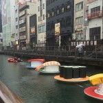 Osaka River Transforms Into A Giant Sushi Conveyor Belt