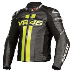 Dainese VR46 Valentino Rossi Leather Jacket meilleurs prix FCMoto Valentino  Rossi Helmet 65288b2ae7d