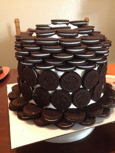 Oreo Cookie cake. 3-8