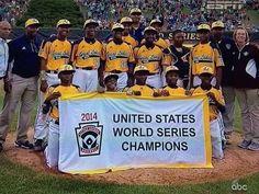 Chicago 2014 Little League World Series Champions. Chicago Stuns Vegas, Wins LLWS U.S. Championship