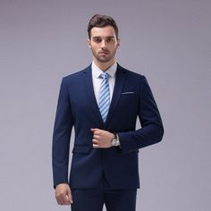 2016 Slim Fit Groom Business Party Suit