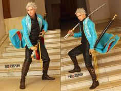 Devil May Cry 3 Cosplay. Pretty decent Vergil.