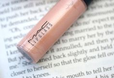 MAC Lipglass in Bared for You