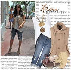 """1174. Celeb Style : Kim Kardashian (15.10.2010)"" by munarina on Polyvore"