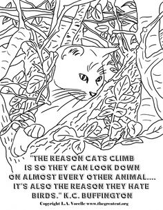 279 Best Cat Quotes at http://www.thegreatcat.org/stories