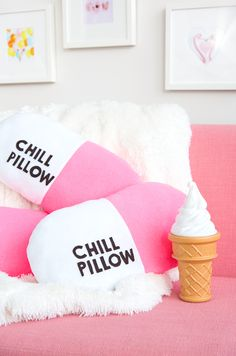 Easy DIY Chill Pill-ow