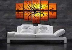Decoración con cuadros: adorna las paredes de la sala | Sala - Decora Ilumina