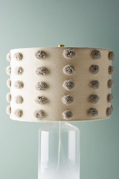 Slide View: 1: Tufted Amal Lamp Shade
