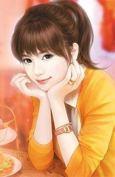 Every beautiful smile hides something very sad art girl, beautiful asian girls, anime art Cartoon Girl Images, Cute Cartoon Girl, Cartoon Love Photo, Art Anime Fille, Anime Art Girl, Beautiful Fantasy Art, Beautiful Anime Girl, Beautiful Smile, Korean Art