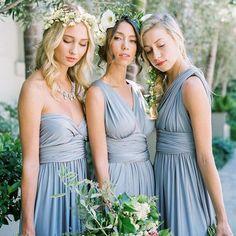 Long Bridesmaid Dress, Jersey Bridesmaid Dress, Dress for Wedding, Convertible Bridesmaid Dress, Floor-Length Bridesmaid Dress, DA833