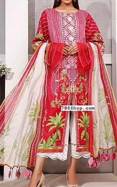 Pakistani Lawn Suits, Pakistani Dresses, Winter Dresses, Winter Outfits, Pink Yellow, Hot Pink, Fashion Pants, Fashion Dresses, Add Sleeves