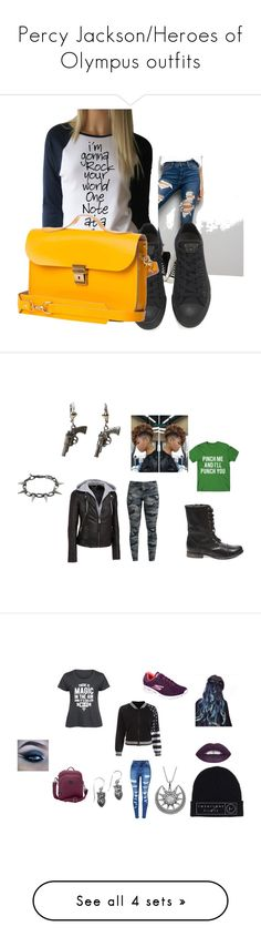 """""""Percy Jackson/Heroes of Olympus outfits"""" by bairdh on Polyvore featuring Wilsons Leather, Steve Madden, Joomi Lim, Lewis N. Clark, WithChic, Skechers, NOVICA, Carolina Glamour Collection, plus size clothing and Circus by Sam Edelman"""