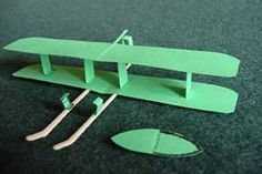 Detailed Instructions for Wright Brothers Plane Model