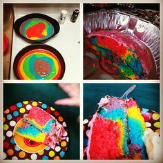 Rainbow cake!!