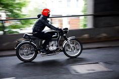 An old school BMW built by the London workshop Untitled Motorcycles.