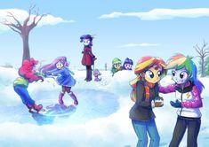 +Winter Antics+ by Kelsea-Chan.deviantart.com on @DeviantArt