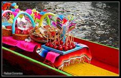 XOCHIMILCO, MEXICO ||| Dulces de Xochimilco México  by Rafael Dorantes, via Flickr
