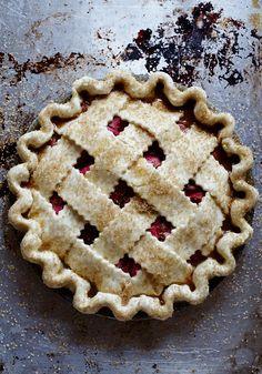 my absolute favorite...Rhubarb Pie!!