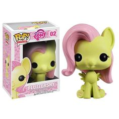 Funko POP Vinyl Figure My Little Pony - Fluttershy 02 I know this is SOOOOO kiddy and childish but I think it is adorable #dontjudge