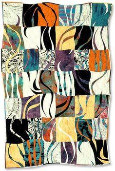 """Wavelength 40 x 60"""" at Ann Schroeder Studio"""