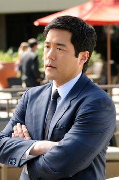 Tim Kang/••••TV star on The Mentalist