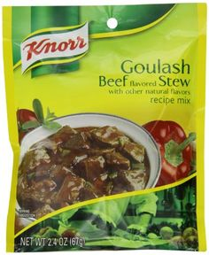 Knorr Entree Mixes-Beef Stew (Goulash) Recipe Mix, Pouches (Pack of - I Cook Different Making Beef Stew, Gourmet Recipes, Cooking Recipes, Dinner Recipes, Old Fashioned Goulash, Power Pressure Cooker, Meat Seasoning, Dried Vegetables, Goulash Recipes