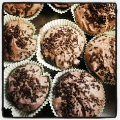 Chocolat and nuts muffins