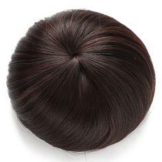 Synthetic Hair Bun Extension Donut Chignon Hairpiece Wig