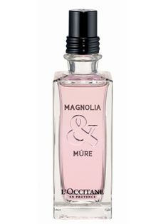 Magnolia & Mure L`Occitane en Provence for women. SO CAN'T WAIT FOR ITS RELEASE ON APRIL 17, 2013! LOVE IT!