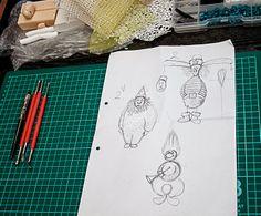 Творчество ФАни.: Как создаются елочные игрушки  из пластики?